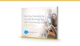 Get Your Community Up and Running Fast with Community Cloud