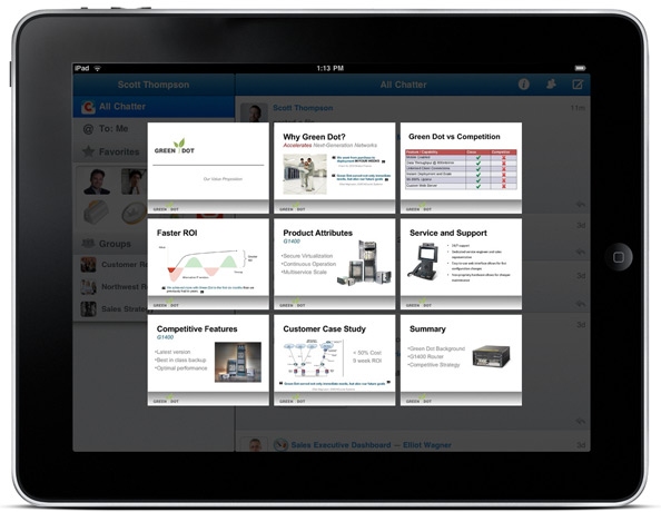 Deliver presentations from your iPad