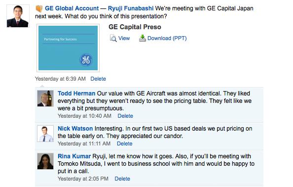 Streamline worldwide communication on global accounts