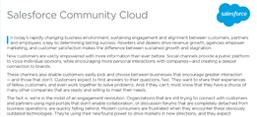 CommunityCloud Datasheet