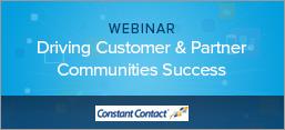 Driving Customer & Partner Communities Success