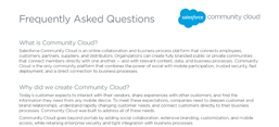 Community Cloud Datasheet