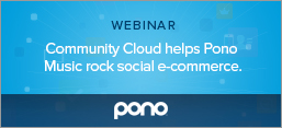 Community Cloud helps Pono Music rock social e-commerce