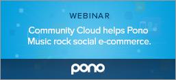 Community Cloud helps Pono Music rock social e-commerce