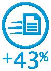 정보 액세스 효율성 43% 향상