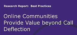 Six Ways Customer Communities Provide ROI beyond Lowering Service Costs