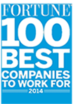 Fortune 100 Best Companies to Work For 2014