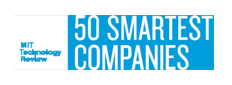 MIT Technology Review's 50 Smartest Companies (las 50 empresas más inteligentes, según MIT Technology Review)
