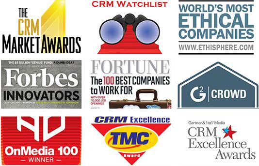 Muitas publicações respeitadas classificam o Salesforce como o melhor CRM no mercado