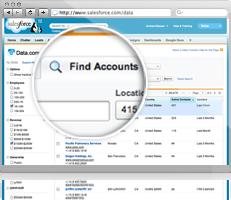 Data.com account search
