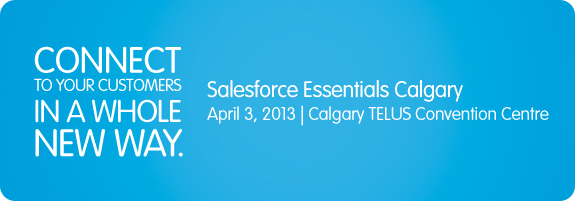 Salesforce's Cloudforce Calgary 2013 conference is free to attend