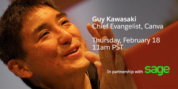 webcast with Guy Kawasaki
