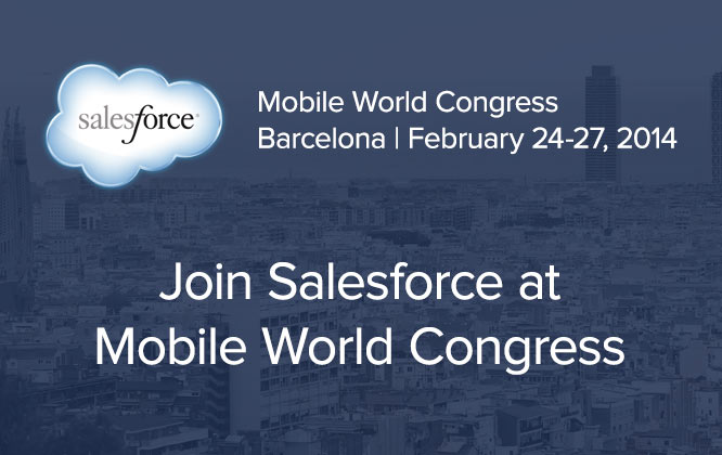 Join salesforce.com at Mobile World Congress