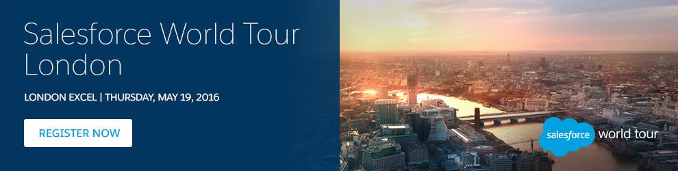 Salesforce World Tour Paris