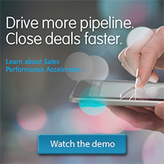 Sales Performance Accelerator supercharges the power of the World's #1 CRM