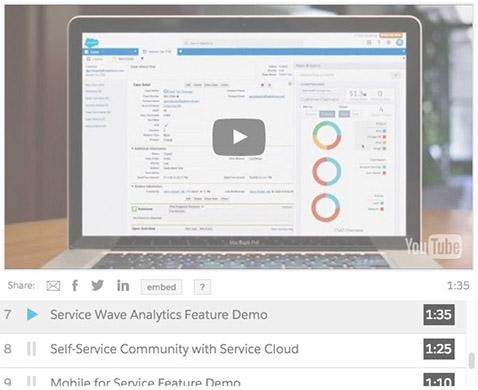 Service Cloud demo