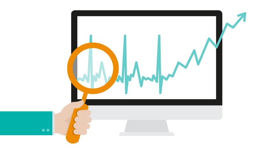 Monitor company with financials