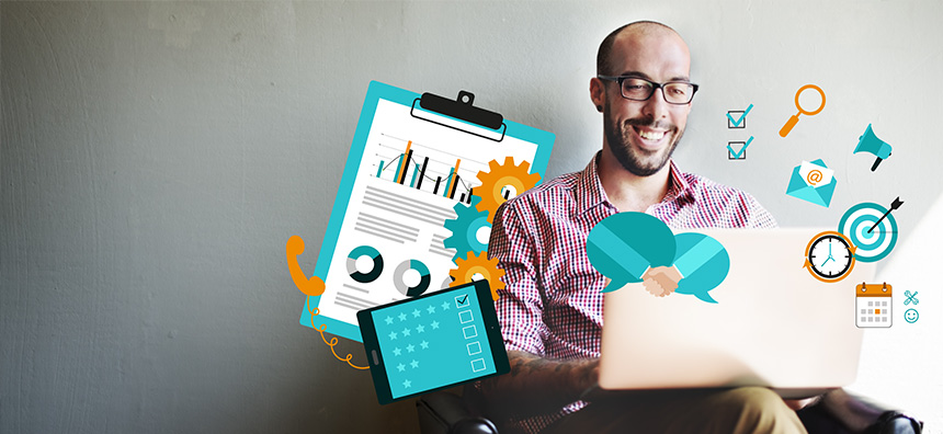 Salesforce Center CRM header image