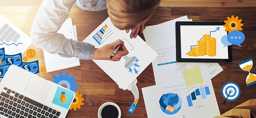 Salesforce Center sales header image