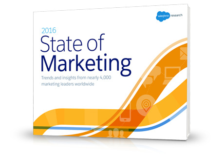 Download the State of Marketing report to learn more about the latest marketing industry trends as told by 4000 marketing leaders around the globe.