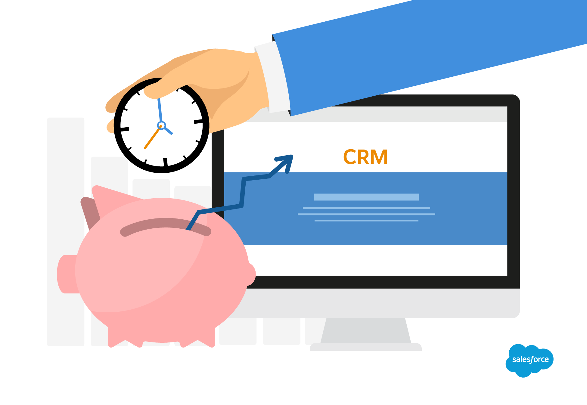 integrate a crm to help keep track of clients