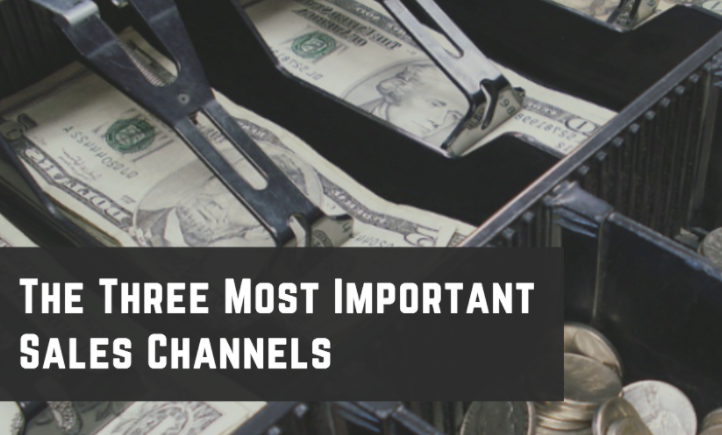 three most important sales channels