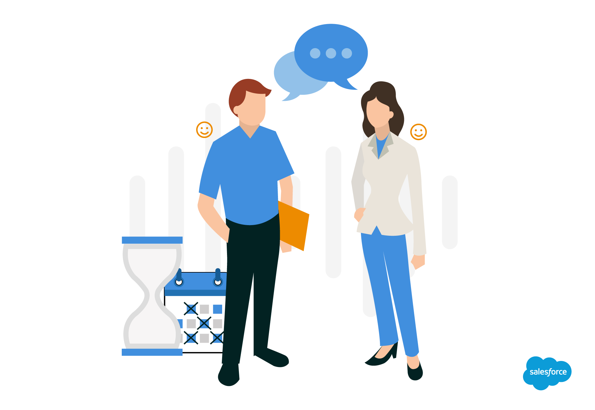 spend more time with customers