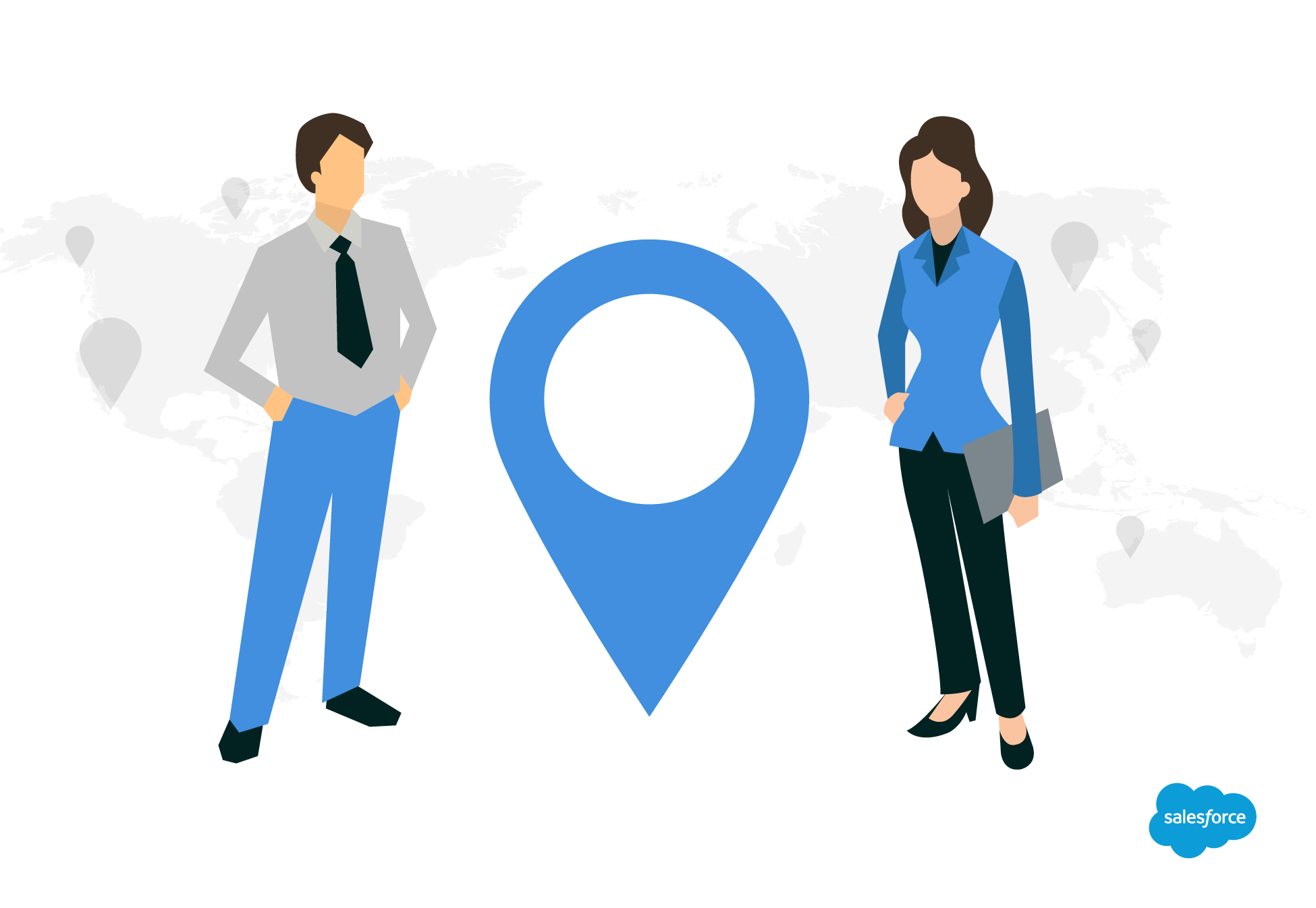 be located close to your customer base