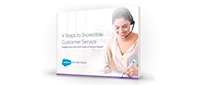 4 steps to incredible customer service
