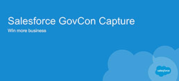 Salesforce GovCon Capture Webinar featuring PAE