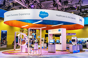 Salesforce booth