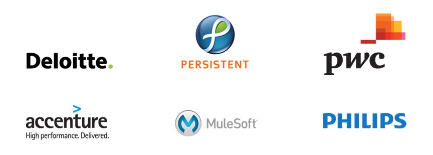 Health Cloud partner logos