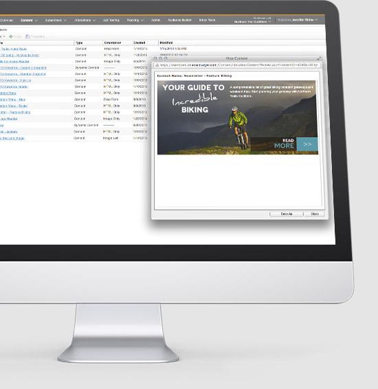 网络内容营销工具界面