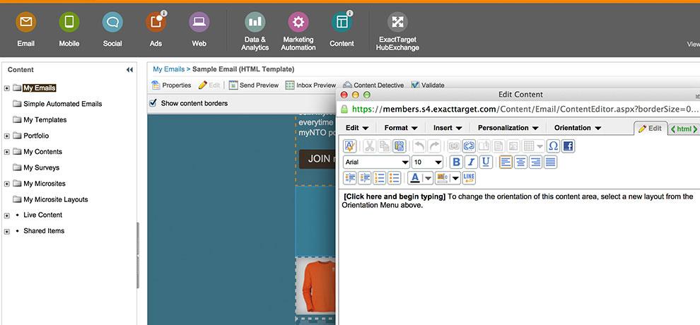 电子邮件营销平台操作演示