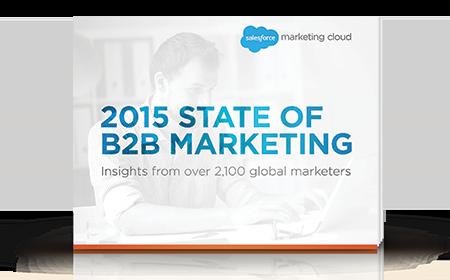 2015 State of B2B Marketing