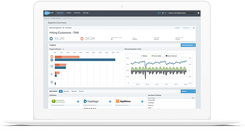 Request a Live Salesforce DMP Demo