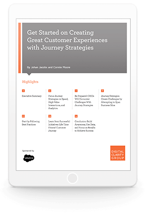 Get Started on Creating Great Customer Experiences with Journey Strategies