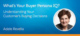 What's Your Buyer Persona IQ? Webinar