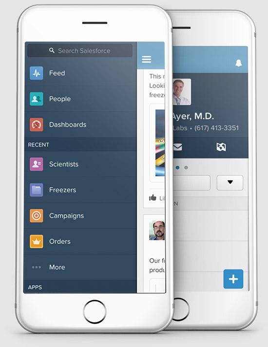 Build employee apps