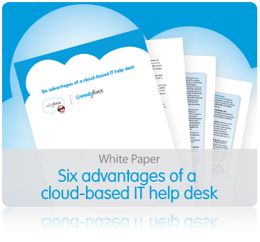 White paper: Six advantages of a cloud-based help desk