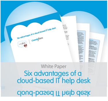 White paper: Six advantages of a cloud-based help desk
