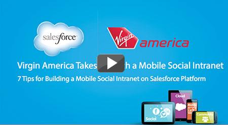 Salesforce1 Platform Virgin America Webinar