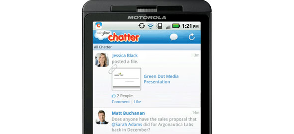 Chatter Mobile for Android