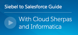 Making the move from Siebel to Salesforce