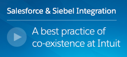 Salesforce and Siebel Integration