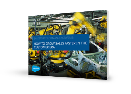Salesforce for manufacturing e-book