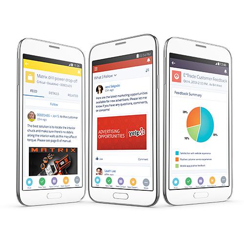 推行移动CRM平台Salesforce1 Mobile App