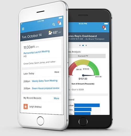 Salesforce 1 App  Close Deals at Lightening Speed
