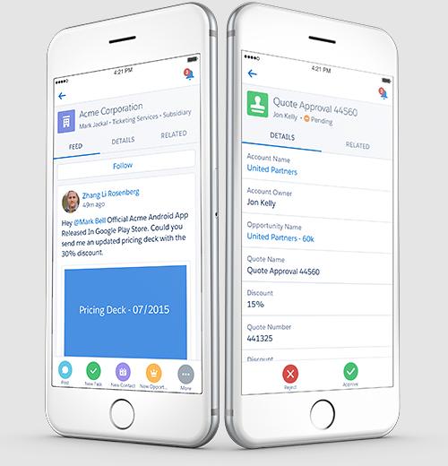 移动CRM平台管理客户界面