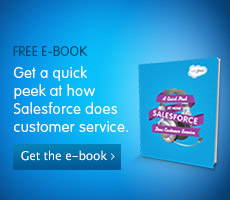 A quick peek at how Salesforce does customer service